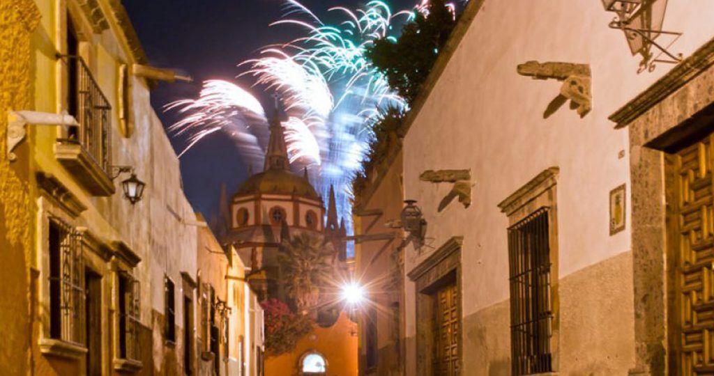 Año nuevo en San Miguel de Allende