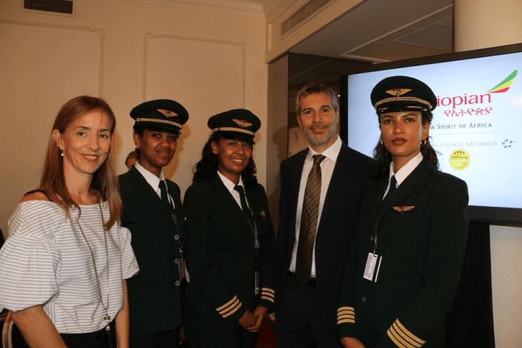 Vuelo de Ethiopian Airlines llega a Buenos Aíres