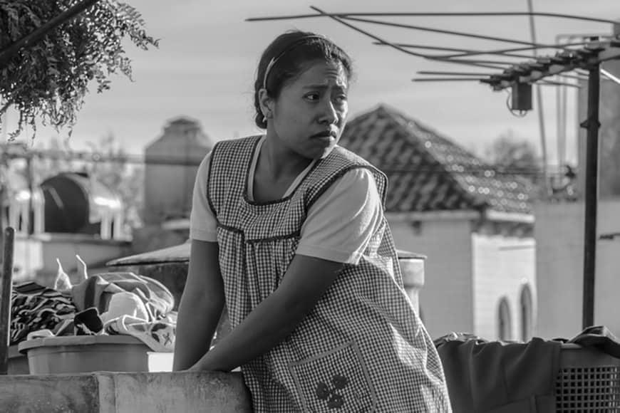 Yalitza Aparicio estrella de la película Roma